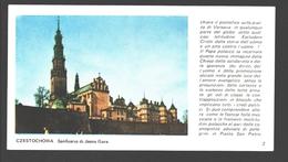 Mogila - Santuario S. Croce - 15,5 X 8,5 Cm - Educational Card - Pologne
