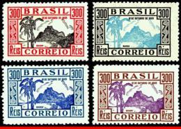 Ref. BR-414-17 BRAZIL 1935 NATURE, CHILD�S DAY, IMAGE GAVEA,, RJ, TREE, ROCK, MI# 435-38, SET MNH 4V Sc# 414-17 - Unused Stamps