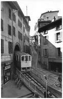 LUGANO → Funicolare Della Stazione E Via Cattedrale Anno 1951 - TI Tessin