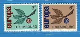 (Mn1) LUSSEMBURGO ** - 1965 - EUROPA. Yvert N° 670-671.  MNH. - Unused Stamps