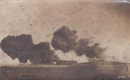 Alte Ansichtskarte Aus Helgoland -30,5 Cm-Geschütze Feuernd- - Guerre 1914-18