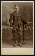 Photo Ancien / Men / Homme / Man / Soldat / Soldier / Soldaat / Photographer / Lytton / Sheffield / England / 2 Scans - Photographie
