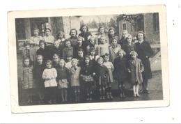 Photo Carte - Ecole Communale De VIELSALM Le 30/11/1942 - Classe De Filles, école,...  (sp4) - Vielsalm