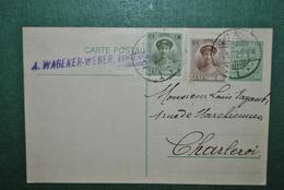 Luxembourg 1922 Carte Postale Circulé - Entiers Postaux