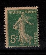 YV 137h N** Papier GC Semeuse Cote 5 Euros - France