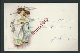 Très Jolies Chinoises.  Litho Raphael Tuck & Fils. Série N°20-4. Ecrite En 1900. - Autres