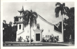 CPSM Etats-Unis Chinese Christian Church Honolulu - Honolulu