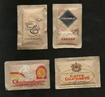 4 Bustine Zucchero Italia - Caffè Italiani  10 - Zucchero (bustine)