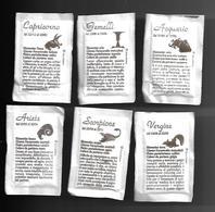 6 Bustine Zucchero Italia - Segni Zodiacali - Zucchero (bustine)