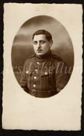 Photo Ancien / Men / Homme / Man / Soldat / Soldier / Soldaat / Photographer / W. Hook / Crefeld / Krefeld / Germany - Photographie