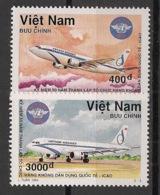 Vietnam - 1995 - N°Yv. 1509 à 1510 - Avions / Airplanes - Neuf Luxe ** / MNH / Postfrisch - Airplanes