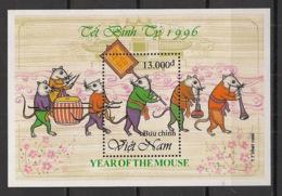 Vietnam - 1996 - Bloc Feuillet BF N°Yv. 91 - Année Du Rat - Neuf Luxe ** / MNH / Postfrisch - Rodents