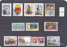 Honduras  -  Lote 12  Sellos Diferentes  - 7/3992 - Honduras