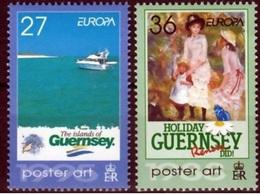 Guernsey Mi 967,968 Postfris M.n.h. Europa Cept 2003 - 2003