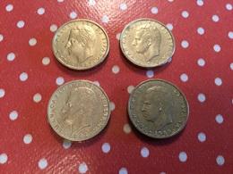LOT DE 4 PIÈCES VOIR LE SCAN - Munten & Bankbiljetten