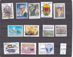 Honduras  -  Lote 12  Sellos Diferentes  - 7/3994 - Honduras