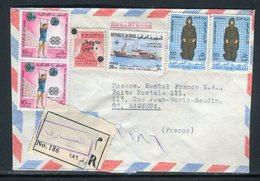 Iraq - Enveloppe En Recommandé De Baghdad Pour La France En 1972 - Prix Fixe - Réf JJ 212 - Iraq