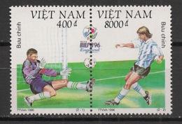 Vietnam - 1996 - N°Yv. 1642 à 1643 - Football - Neuf Luxe ** / MNH / Postfrisch - UEFA European Championship