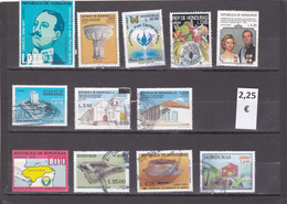 Honduras  -  Lote 12  Sellos Diferentes  - 7/3995 - Honduras