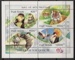 Vietnam - 1996 - N°Yv. 1658 à 1661 - Protection De La Nature - Neuf Luxe ** / MNH / Postfrisch - Big Cats (cats Of Prey)