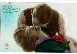 Femme Et Homme  /women & Man / Vrouw  En Man Le Basiser  2887 - Couples