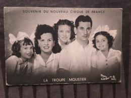 TI - Souvenir Du Nouveau Cirque De France - Troupe MOUSTIER - Cirque