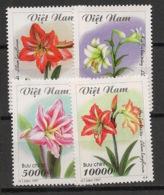 Vietnam - 1997 - N°Yv. 1686 à 1689 - Fleurs / Flowers - Neuf Luxe ** / MNH / Postfrisch - Plants
