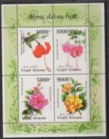 Vietnam - 1997 - N°Yv. 1714 à 1717 - Hibiscus / Flower - Neuf Luxe ** / MNH / Postfrisch - Plants