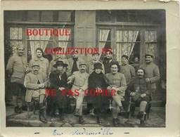 ☺♦♦ GROUPE De MILTAIRE SOLDAT < PHOTO 1910 - 1920 - Guerre, Militaire