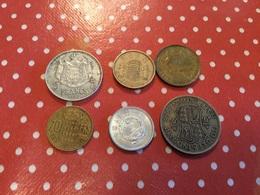 LOT DE 6 PIÈCES VOIR LE SCAN - Münzen & Banknoten
