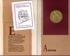 ANDORRA 1989 - BLISTER PACK CON LA MONEDA DE PLATA (SILVER) DE 25 DINERS DEDICADA AL BISBE SALA - KM # 61 - Andorra