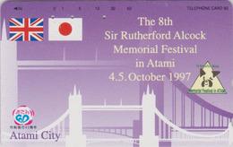 RARE Télécarte Japon / 290-52599 - ANGLETERRE  - PONT - London TOWER BRIDGE -  England Rel Japan Phonecard - Site 161 - Landschappen