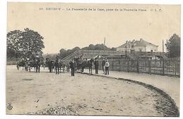 BRUNOY - La Passerelle De La Gare, Prise De La Nouvelle Place - Brunoy