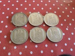 LOT DE 6 PIÈCES VOIR LE SCAN - Monnaies & Billets
