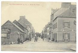 44-LE POULIGUEN-Rue Du Pont... Animé  Epicerie... - Le Pouliguen
