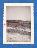 Photo Ancienne - Secteur DJEBEL KEBIR / BIZERTE ( Tunisie ) - Camp Militaire Français - 1956 - Poste Radio ? Antenne - Guerre, Militaire