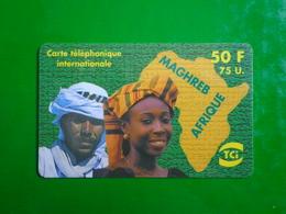 PREPAYEE 50 F TCI MAGHREB AFRIQUE 30 AVRIL ???  UTILISE - France