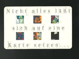 Carta Telefonica Germania - Nict Alles...   -  Carte Telefoniche@Scheda@Schede@Phonecards@Telecarte@Telefonkarte - Germania