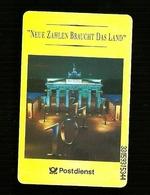 Carta Telefonica Germania - Postdienst  -  Carte Telefoniche@Scheda@Schede@Phonecards@Telecarte@Telefonkarte - Germania