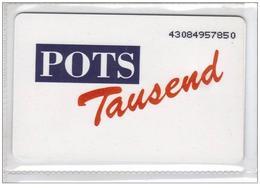 Carta Telefonica Germania - Pots   -  Carte Telefoniche@Scheda@Schede@Phonecards@Telecarte@Telefonkarte - Germania
