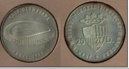 ANDORRA 1988 - BLISTER CON LA MONEDA DE 20 DINERS  DEDICADA A LA OLIMPIADA DE SEUL - Andorre