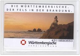 Carta Telefonica Germania - Wurttembergische  -  Carte Telefoniche@Scheda@Schede@Phonecards@Telecarte@Telefonkarte - Germania