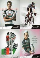 Cyclisme, 4 Cartes De Fabio Aru - Cyclisme