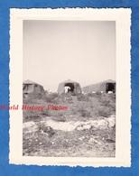 Photo Ancienne - Secteur DJEBEL KEBIR / BIZERTE  Tunisie - Tente Du Camp Militaire Français - 1956 - Silhouette Snapshot - Guerre, Militaire