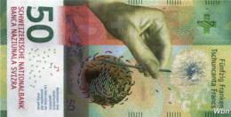 Suisse 50 Francs (P77) 2015a (Pref: M) -UNC- - Suisse