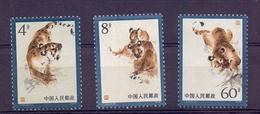 Chine N°2228 / 2230 Neuf Sans Charniere XX  MNH Tigre - 1949 - ... Repubblica Popolare
