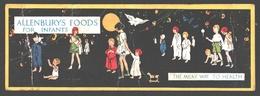 Gladys Peto - Allenburys' Foods For Infants - The Milky Way To Health - Publicity Card - 14 X 4,9 Cm - Illustrateurs & Photographes