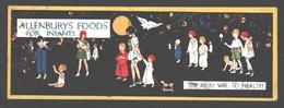 Gladys Peto - Allenburys' Foods For Infants - The Milky Way To Health - Publicity Card - 14 X 4,9 Cm - Autres Illustrateurs