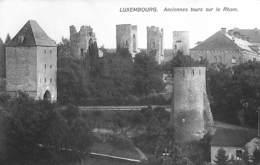 Luxembourg - Anciennes Tours Sur Le Rham - Luxemburg - Stad