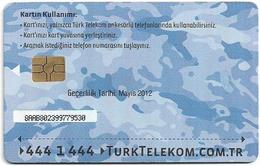 Turkey - TT (chip) - Soldier Cards (Aircraft) - C-245 - Havacikartt Mayis 2012, 50U, Used - Turkey